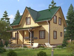 Дом из бруса «Сергач»