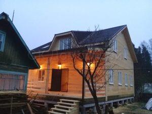 Дом из бруса 9х12 Приморск