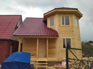 Дом из бруса 7х7 Подольск
