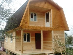 Каркасный дом 6х8 поселок Хомяково