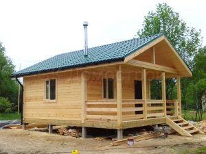 Дом из бруса 6х7 поселок Зелени
