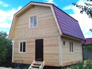 Дом из бруса 6х6 деревня Верхнее Шахлово