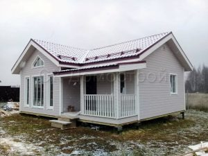 Каркасный дом 7,5х9 Серпухов