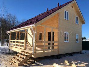 Каркасный дом 7х9 село Еганово