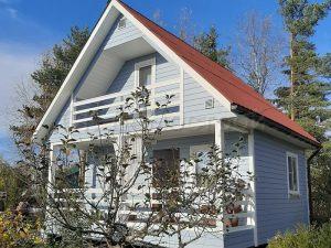 Каркасный дом 6х6 СНТ Чайка